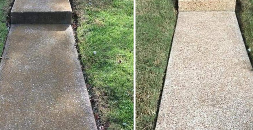 Concrete & Driveway Cleaning